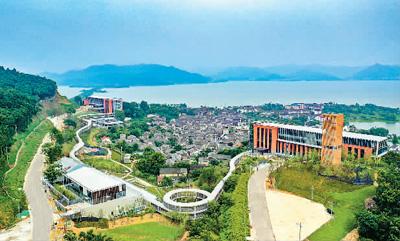 宁波东钱湖:好生态引来好项目