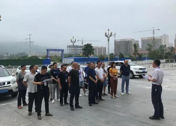 四川广安市组织开展生态环境执法大练兵